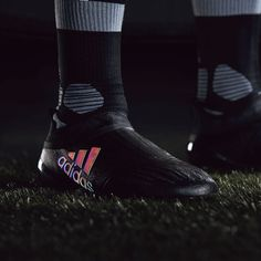 adidas X 16+ Purechaos FG/AG - Core Black/Dark Grey