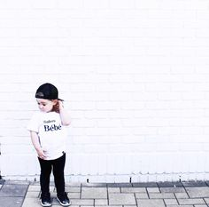 Has anyone else found it near impossible to find a white wall Let me know in the comments if you have found one and where it is. Also Ava is looking cute as can be in our Matching Mom and Mini tee! Toddler Boy Fashion, Toddler Boy Outfits, Kids Outfits, Kids Fashion, Baby Clothes Canada, Bebe Shirts, Monochrome Fashion, Stylish Baby, Graphic Tees