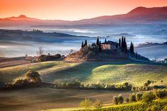 Colors of Tuscany by Adnan Bubalo - Val'd Orcia, Tuscany - #Adnan_Bubalo