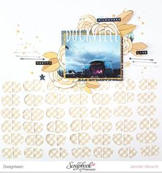 Another layout featuring the @scrapbookwerkstatt October Kit.  #sbwdesignteam #sbw #scrapbookwerkstatt #scrapbooking #papercraft #papercrafting #craft #crafting #diy #scrapbooklayout #patternedpaper #memorykeeping #cutfile #cutfilelove #silhouettecameo #plotter  Cutfile by @thecutshoppe.