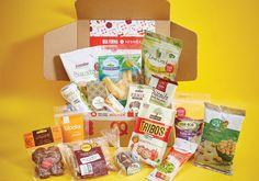 A caixa BOA FORMA   Hisnëk está recheada de snacks saudáveis