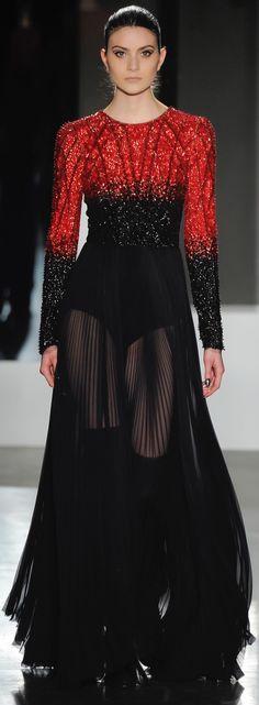 Pamella Roland, fall 2016 Ready-to-Wear