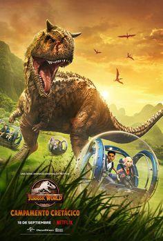Jurassic World Poster, Jurassic World Wallpaper, Jurassic Park 3, Jurassic Movies, Trailer Oficial, Raini Rodriguez, Dragons, Prehistoric Animals, New Poster