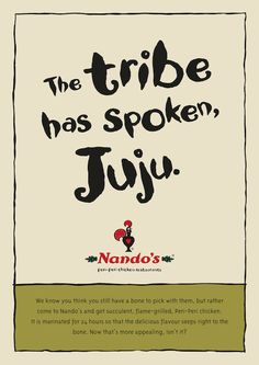 Nando's advertising - Julius Malena facing expulsion from the ANC Youth League
