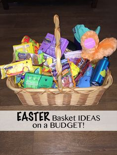 Easter Basket Ideas with Peeps(R)! with GREAT tips on creating the perfect Easter Basket.on a BUDGET! What tip would you add to this list? Craft Stick Crafts, Diy Crafts, Frugal Christmas, Easter Story, Easter Peeps, Easter Bunny Decorations, Easter Crafts For Kids, Basket Ideas, Easter Baskets