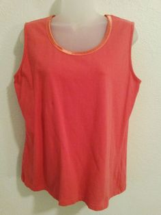 Women's Peach Stretch Top Blouse by d & co Sleeveless Tank Top Cami - Size Medium  ..... Visit all of our online locations ..... (www.stores.eBay.com/variety-on-a-budget) ..... (www.amazon.com/shops/Variety-on-a-Budget) ..... (www.etsy.com/shop/VarietyonaBudget) ..... (www.bonanza.com/booths/VarietyonaBudget ) .....(www.facebook.com/VarietyonaBudgetOnlineShopping)