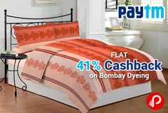 Paytm is offering flat 41% off on entire range of Bombay Dyeing Range. This offer is valid on over 2000+ products.