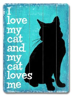 this would be cute if it were an actual sillouette of your cat!!