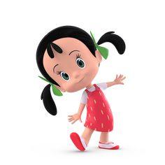 Happy Cartoon, Cute Cartoon Girl, Cartoon Pics, Cartoon Art, Cute Disney Wallpaper, Cute Cartoon Wallpapers, Character Design Animation, Character Art, Baby Cartoon Characters
