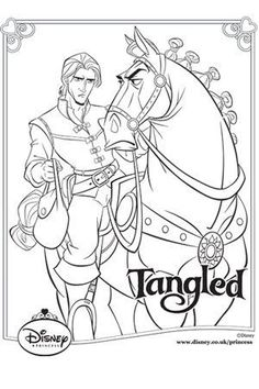 tangled coloring pages google sgning - Tangled Coloring Pages Girls