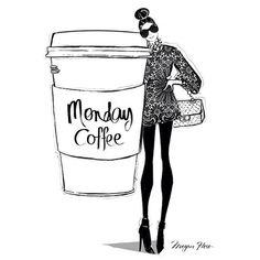 Be fabulous today. #monday #coffee #qotd