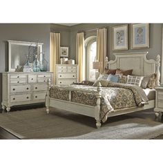 Found it at Wayfair - Pearson Four Poster Customizable Bedroom Set