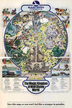 54 ideas quotes disney walt magic kingdom for 2019 Disney Map, Old Disney, Disney Parks, Vintage Disney Posters, Vintage Disneyland, Theme Park Map, Disney Rides, Disney World Florida, Disney Designs