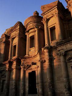 The Monastery), Petra, Unesco World Heritage Site, Jordan, Middle East