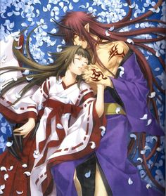 Title: Hiiro no Kakera  Type : Anime Aired : 2012 Genres: (Adventure, Drama,romance relationship) Tamaki Kasuga has supposedly gone to live with her grandmother after her parents are transferred overseas. But the real reason for her arrival is that she must continue the role, handed down from her ancestor Princess Tamayori, to seal the sword Onikirimaru. Five young men serve as her guardians against the mysterious Logos.  awesome