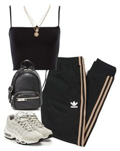A fashion look from October 2017 featuring adidas Originals, NIKE sneakers and Alexander Wang shoulder bags. Browse and shop related looks. A fashion look from October 2017 by theeuropeancloset featuring adidas Originals, NIKE, Alexander Wang and LowLuv Swag Outfits, Mode Outfits, Cute Casual Outfits, Fall Outfits, Summer Outfits, Fashion Outfits, Casual Teen Fashion, Fashion Hacks, Kpop Outfits