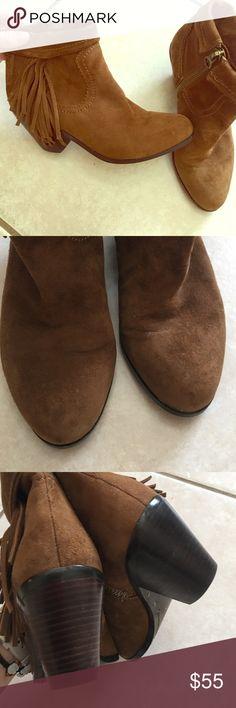 Sam Edelman fringe booties Gentle wear. Sam Edelman fringe booties Sam Edelman Shoes Ankle Boots & Booties
