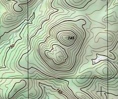 how to make a topographic map in illustrator