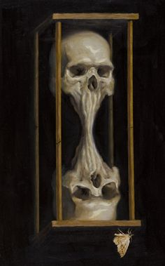 Sotiris Κλεψύδρα (Time), 2010 and Elena Balbusso Ackrill Picnic Lecouffe Deharme Kavallieratos, 2008 Prudnikoff - Happiness Bibin Kingman, Éq. Arte Horror, Horror Art, Totenkopf Tattoos, Illustration, Human Skull, Skull Tattoos, Skull And Bones, Memento Mori, Occult