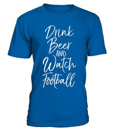 """# Drink Beer and Watch Football Shirt Vintage Drinking Tee .  Special Offer, not available in shops      Comes in a variety of styles and colours      Buy yours now before it is too late!      Secured payment via Visa / Mastercard / Amex / PayPal      How to place an order            Choose the model from the drop-down menu      Click on """"Buy it now""""      Choose the size and the quantity      Add your delivery address and bank details      And that's it!      Tags: Drink beer and watch…"""