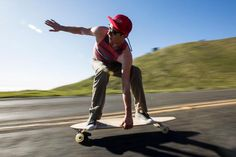 How to Get Started in Longboard Skatboarding: Longboarding Instructions - Basic Just Starting Out