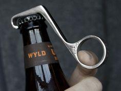 1 Handed Magnetic Bottle Opener by Kebo (for glass bottles of soda!)