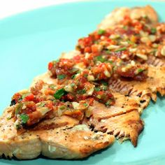 Inspired By eRecipeCards: White Wine Marinated Grilled Salmon - Grilling Time FISH