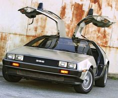 On this day, Jan. the first Delorean rolled off the assembly line. My Dream Car, Dream Cars, Dmc Delorean, Car Places, Auto Glass, Fancy Cars, Hot Cars, Motor Car, Classic Cars
