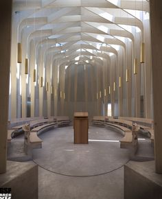 /// Bishop Edward King Chapel by Niall McLaughlin Architects ///