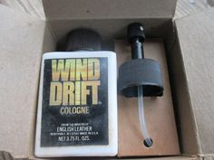 Vintage 1970's English Leather Wind Drift Cologne by HankiePanky