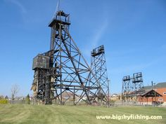Butte, Montana Pictures : Mining Rig and Towers in Butte, MT