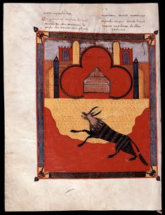 Beato de Liébana: códice de Fernando I y Dña. Sancha — (70)