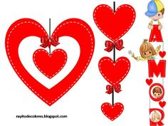 Modelos de colgantes para San Valentín