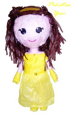 Piñata personalizada 3D de Bella