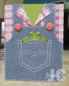 At Irm's Request by naturecoastcrafter – Cards and Paper Crafts at Splitcoaststampers - kids cards Kids Birthday Cards, Shaped Cards, Kids Cards, Cute Cards, Creative Cards, Greeting Cards Handmade, Scrapbook Cards, Homemade Cards, Stampin Up Cards
