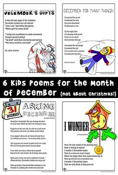 December Poems for Kids | Woo! Jr. Kids Activities
