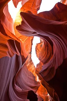 Lower Antelope Canyon, Arizona - some of the most beautiful sights I've ever seen!