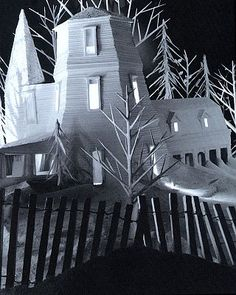 James Casebere - Winterhouse, 1984