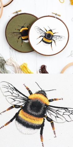 Embroidery Bee Hand Ideas for bee hand ideas for 2019 embroideryEtsy Shop feature on So Super Awesome etsy embroidery embroideryhoops diy p .Etsy shop feature on So Super Awesome etsy embroidery Diy Embroidery Patterns, Etsy Embroidery, Embroidery Hoop Art, Vintage Embroidery, Cross Stitch Embroidery, Bee Art, Needlepoint Designs, Creations, Etsy Shop