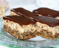 Grandma told me the nuts, elronthatatlan, juicy French fries piled secret! Fall Desserts, Cookie Desserts, No Bake Desserts, Cookie Recipes, Delicious Desserts, Dessert Recipes, Hungarian Desserts, Hungarian Recipes, Homemade Sweets