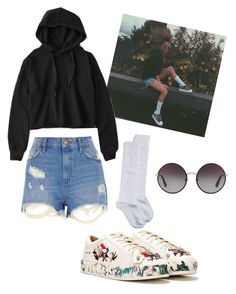 """""""Ylona Garcia"""" by hailaariola on Polyvore featuring Nordstrom, Abercrombie & Fitch, River Island, Nasty Gal and Dolce&Gabbana"""