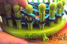 Loom Knitted Wrist Warmers/Fingerless Gloves Tutorial « Melli's Mish Mash