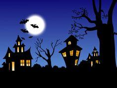 This is halloween spooky-ooky halloween....