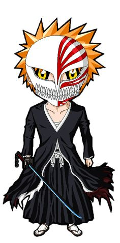 bleach Chibi Ichigo vizard by ZantyARZ.deviantart.com on @DeviantArt
