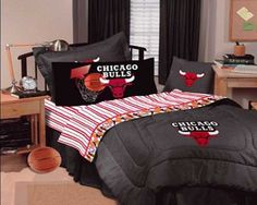 Chicago Bulls Bedding Set QueenTwin Size Chicago bulls King