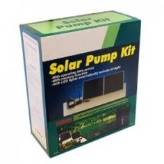Just bought this Solar Pond Pump with Battery backup.  very good!