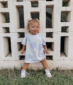 Cute Baby Girl Outfits, Cute Outfits For Kids, Cute Baby Clothes, Cute Toddlers, Cute Kids, Funny Babies, Cute Babies, Baby Planning, Cute Baby Pictures