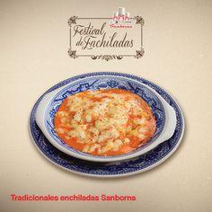 Tradicionales enchiladas Sanborns #SoloSanborns