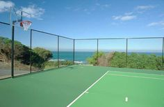 A game of Tennis or Basketball anyone? Ocean View Resort, Tennis, Basketball, Game, Gaming, Toy, Games, Netball