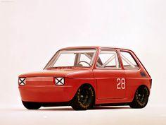 Fiat 126 #fiat Fiat 126, Sports Car Racing, Race Cars, Fiat Abarth, Mode Of Transport, Smart Car, Electric Car, Rally Car, Supercar